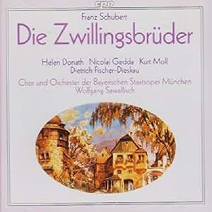 Schubert: Die Zwillingsbrüder [IMPORT]
