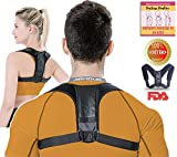 Proagility Posture Corrector For Men And Women   Posture Brace Features Posture Support And Back Brace For Upper Back Support   Perfect posture support for women and posture support for men