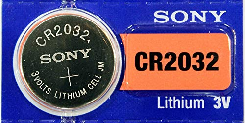 Sony Knopfzelle CR 2032 Lithium 3 Volt