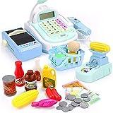 GSCshoe Kinderspiel-Spielzeuge können Ladungssimulationsberechnung scannen und die Registrierkasse anheben (Farbe : Blau)