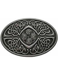 YONE Hebilla de cinturón Celtic Knot Oval Belt Buckle