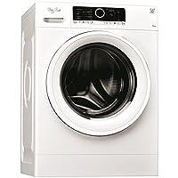 Caratteristiche di questa lavatrice a carica frontale a libera installazione Whirlpool: cestello spazioso da 7 kg. Colore bianco. Esclusiva tecnologia 6° SENSO che adatta dinamicamente le impostazioni in base alle caratteristiche di ciascun c...