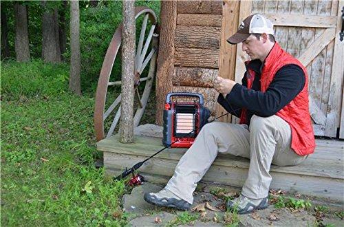 Mr. Heater Portable Buddy Gasheizung inkl. Adapter für Gaskartuschen mit 7/16-Gewinde; - 15