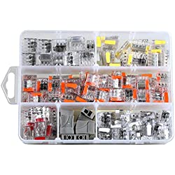 ViD® - Assortiment de 200 mini bornes de connexion rapide C2073 pour fils rigides