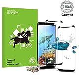 Samsung Galaxy S8 Panzerglas Schutzfolie, Penhou Hohe Qualität 3D Displayschutzfolie [2 Stück] [9H Härtegrad] [Anti-Fingerabdruck] [Ultra Klar] [Anti-Kratzen] [Blasenfreie Installation] Gehärtetes Glas Panzerglas Folie für Samsung Galaxy S8