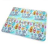 Holiday Hawaii Waikiki Wow! Washable Incontinence Pad Baby Changing Pad Pet Mat Large Size 25.5 x 31.5 inch (65cm*80cm)