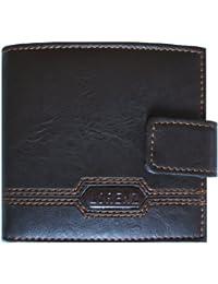 Lorenz Faux Leather Mens Bi-Fold Wallet