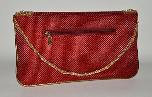 Theshopy Indian Exclusive Lady Clutch With Hand Work #964