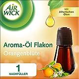 Air Wick Aroma Diffuser Flakon Orangenblüte mit ätherischen Ölen, Nachfüller für Aroma-Öl Diffuser, 1 Stück (1 x 20ml)