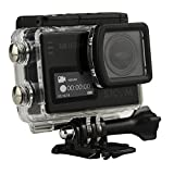 SJCAM SJ6 Legend Black 4 K Action Camera 16 MP Touch Screen Dual Display Wi-Fi HDMI impermeabile, Nero