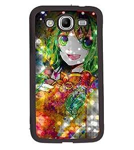 Fuson 2D Printed Girly Designer back case cover for Samsung Galaxy Mega 5.8 I9150 / I9152 - D4492