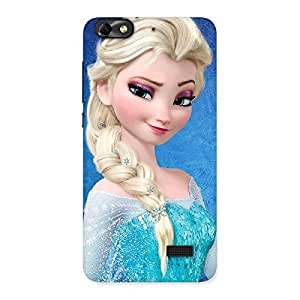 Premium Winky Angel Back Case Cover for Honor 4C