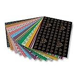 folia Motivkarton 270g/m², 50x70cm, 13 Motive, Folklore, mehrfarbig (13 Bogen)