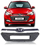 #3: Auto Pearl - Chrome Plated Front Grill For Hyundai I20 Elite (2015-2017)