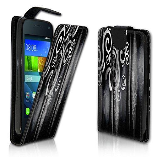 Vertikal Flip Style Handy Tasche Case Schutz Hülle Schale Motiv Etui Karte Halter für Microsoft Lumia 550 - Vertikal Design VMVD354
