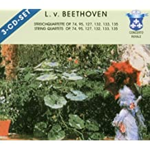 Streichquartette Op. 74, 95, 127, 132, 133, 135 - String Quartets Op. 74, 95, 127, 132, 133, 135