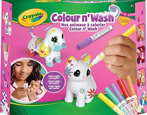 (Crayola – Set mit Kleinen Tieren, zum Ausmalen waschbar, 74-7265-F-0031, Unisex)