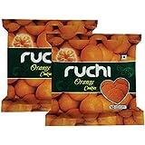 Ruchi Cookies, Orange, 400g (Pack of 2)