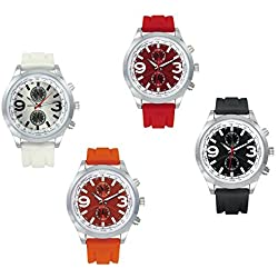 IN COLOURED SILICONE WATCH WITH STEEL MASCAGNI