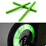 KaLaiXing® Cycling Wheel Spoke Reflector Clips, Reflective...