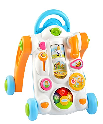 Smoby Cotoons Baby Walker, White