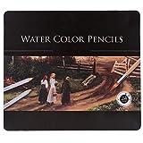 24 Farben Erwachsene Aquarell Buntstifte mit Eisen-Box zum Zeichnen Malbücher Geschenk für Kinder Schule Supplies 24 colors mehrfarbig