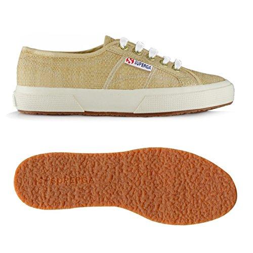 Superga 2750-raffiau, Chaussures Basses Unisexes Pour Adulte Blanc Naturel