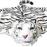 Gravidus Plüschtier Tigerfell Plüschfell Tiger (weiß)