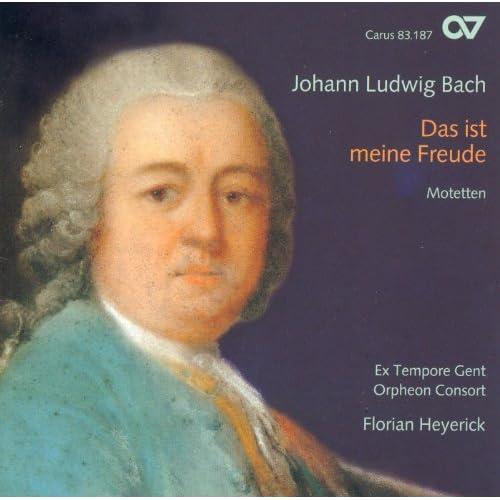 Bach, J.L.: Motets (Ex Tempore Gent, Heyerick)