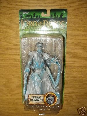 Toy Biz 81378 - Herr der Ringe The Fellowship of the Ring Triologie Twilight Ringwraith with Sword-Jabbing Action
