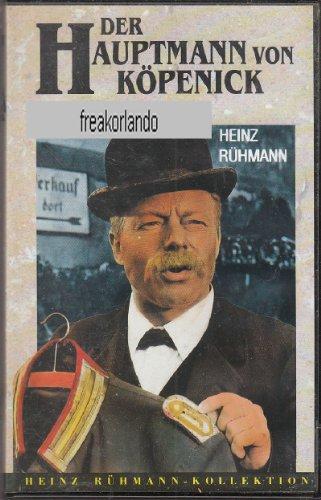 Der Hauptmann von Köpenick. Heinz Rühmann Kollektion