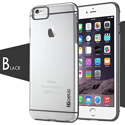 Custodia Apple iPhone 6S 4.7 - Poetic Apple iPhone 6S 4.7 [Serie Atmosphere] - [Leggera] [Sottile-Aderente] Custodia Ibrido Sottile-Aderente Trasparente per Apple iPhone 6 4.7/iPhone 6S 4.7 Chiaro/Grigio (3 Anni di Garanzia del Produttore Poetic) - Schermo Aria Fresca