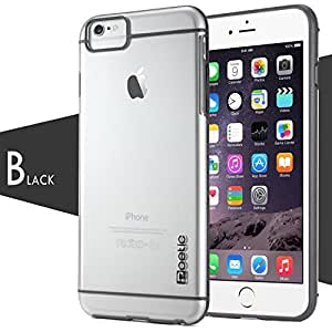 iPhone 6 Case - Poetic Apple iPhone 6 Case [Atmosphere Series] - Slim-Fit Transparent Hybrid Case for Apple iPhone 6 (4.7-inch) Clear/Gray (3-Year Manufacturer Warranty from Poetic)