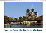 Notre-dame de paris en cartoon (calendrier