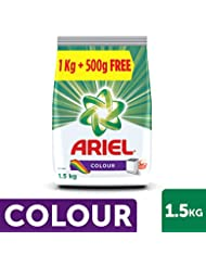 Ariel Colour Detergent Washing Powder - 1 kg with Free 500g