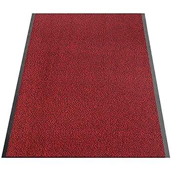 casa pura tapis d 39 entr e rouge noir paillasson au m tre. Black Bedroom Furniture Sets. Home Design Ideas