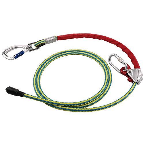 Kanirope PROT30 Länge 3m Halteseil mit Stahlkern und Seilkürzer