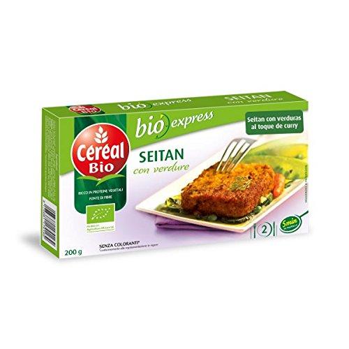 Céréal Bio - Seitan with vegetables - 200g