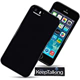 The Keep Talking Shop® New Case Silicone Cover Gel Hybrid and Screen Protector for the iPhone 5 / 5S / SE / Special Edition