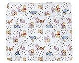 Julius Zöllner Wickelauflage Softy Folie Stylished Pooh in verschiedenen Größen B 65 x T 75 cm