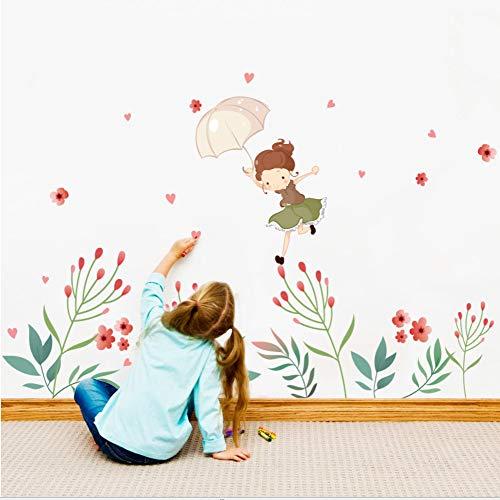 Diy Wandaufkleber Knospe Wandtattoos Mädchen Poster Aufkleber Für Kinderzimmer Wohnkultur Wohnzimmer Wanddekoration