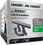 Rameder Attelage rotule démontable pour Renault Clio IV Grandtour + Faisceau 7...