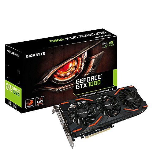 Foto Gigabyte, scheda grafica GeForce GTX 1080 Founders Edition GV-N1080D5X-8GD-B