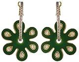 Artificial Jewellery Com Green Gold Plat...