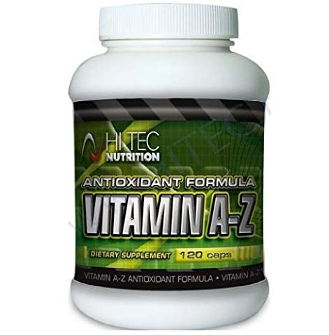 Multi-Vitamin and Multi-Mineral Complex, Vitamin A-Z, Hi Tec Nutrition, 120 tabs by Hi Tec