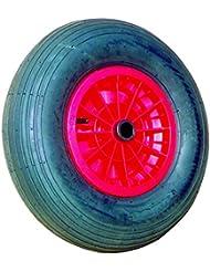 Rueda baja presión diámetro 400mm Tubeless para eje diámetro 20mm ancho buje 75mm