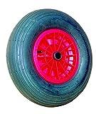 Roue basse pression diamètre 400 mm tubeless pour axe diamètre 20 mm largeur moyeu 75 mm