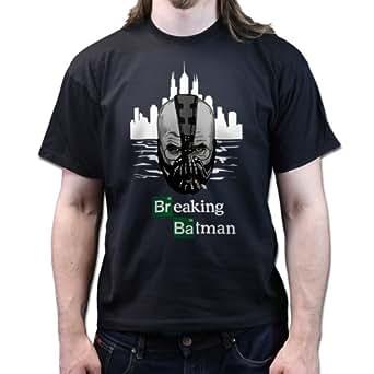 Heisenberg Breaking Bad Batman Bane T Shirt Black S