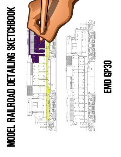 model-railroad-detailing-sketchbook-emd-gp30-a-tablet-for-left-or-right-hand-artists
