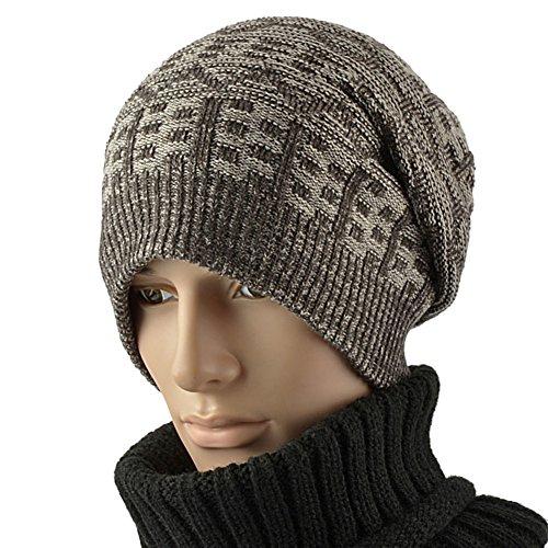 Cappelli uomo/Cappello lavorato a maglia/Cappello di lana/Cappello caldo allaperto/Uomini e